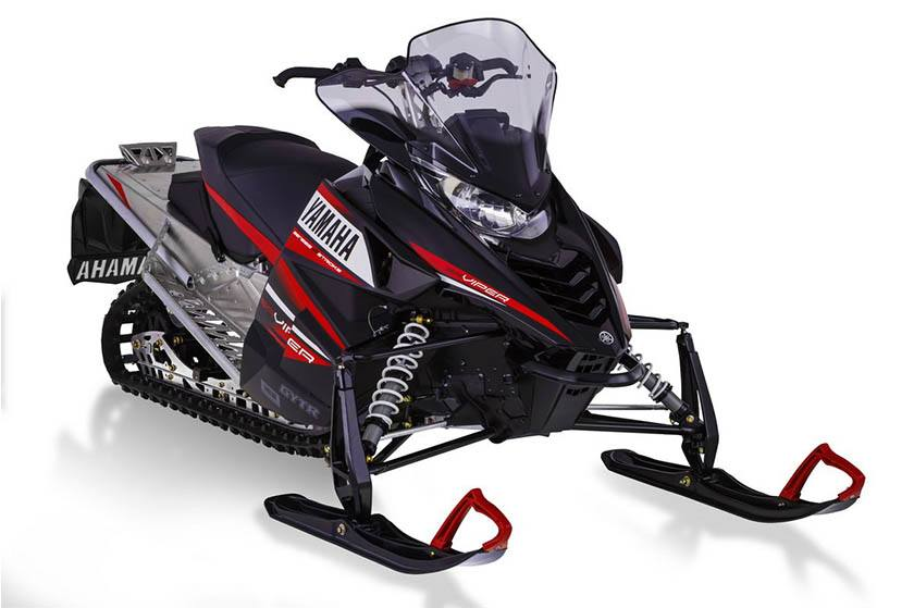 2014 Yamaha SR VIper LTX Snowmobile Stock Photo